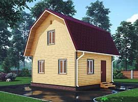 Дом из бруса 6х6 Доброслав