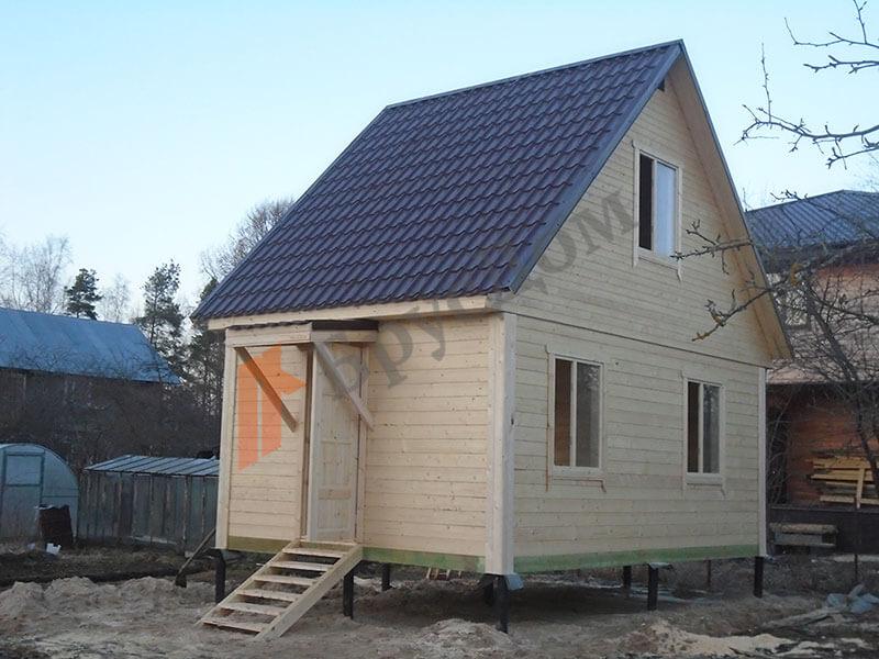 Строительство дома г. Тосно, Ленинградская область