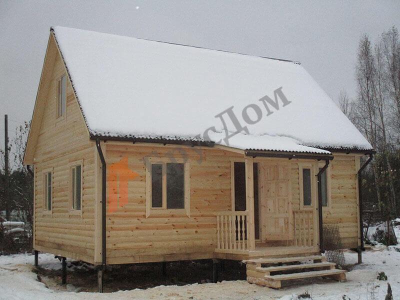 Строительство дома г. Луга, Ленинградская область