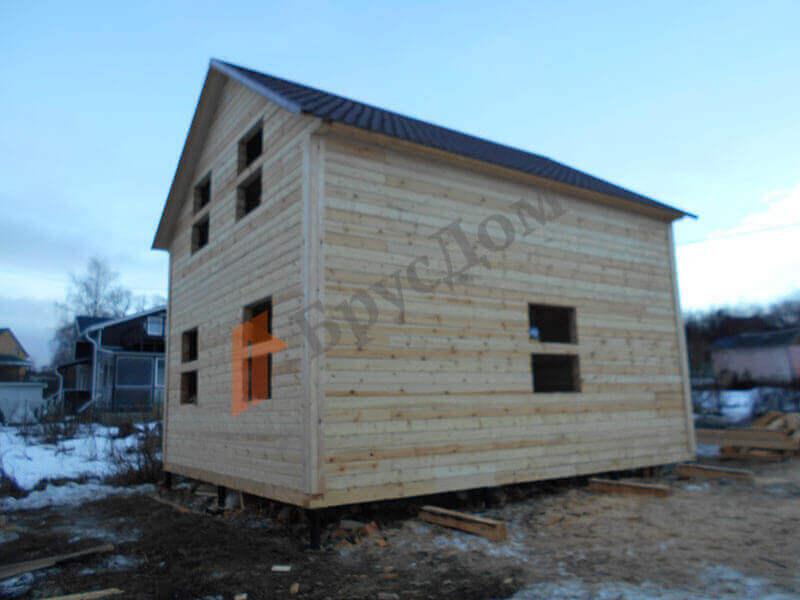 Строительство дома с. Федотово, Вологодская область