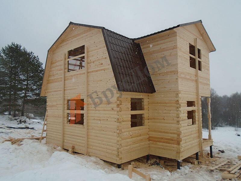Строительство дома Волоколамск, Московская область