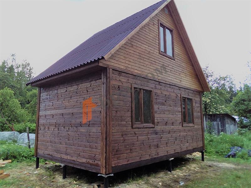 Построен дом в пос. Советский