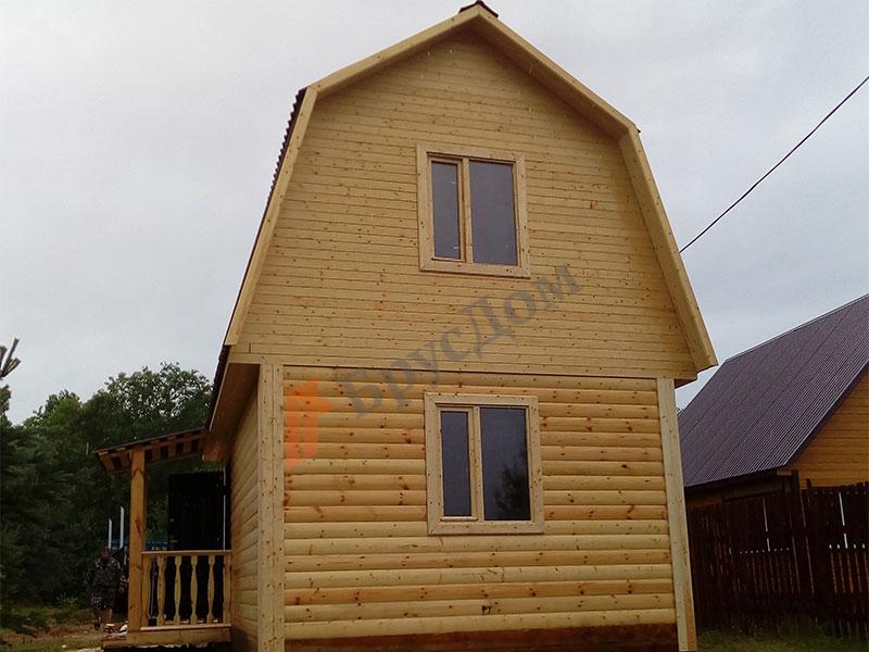 построен дом в д. Осинушка