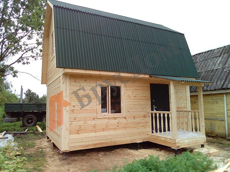 Строительство дома Ленинградская область, СНТ Клен