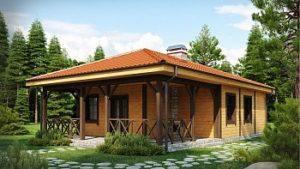 купить проекты дачных домов из бруса