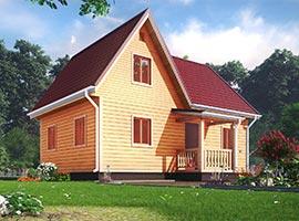 Дом из бруса 6х9 Светомир