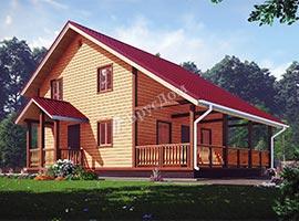 Каркасный дом 7.5х10.5 Корнилий