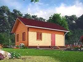 Каркасный дом 6х8 Олег
