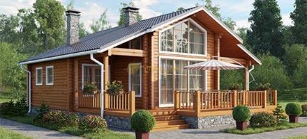 Уютные дома из финского бруса