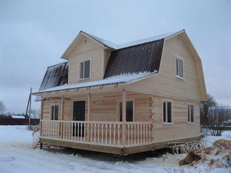 Отзыв о строительстве дома, Ленинградская область, Д. Шаглино
