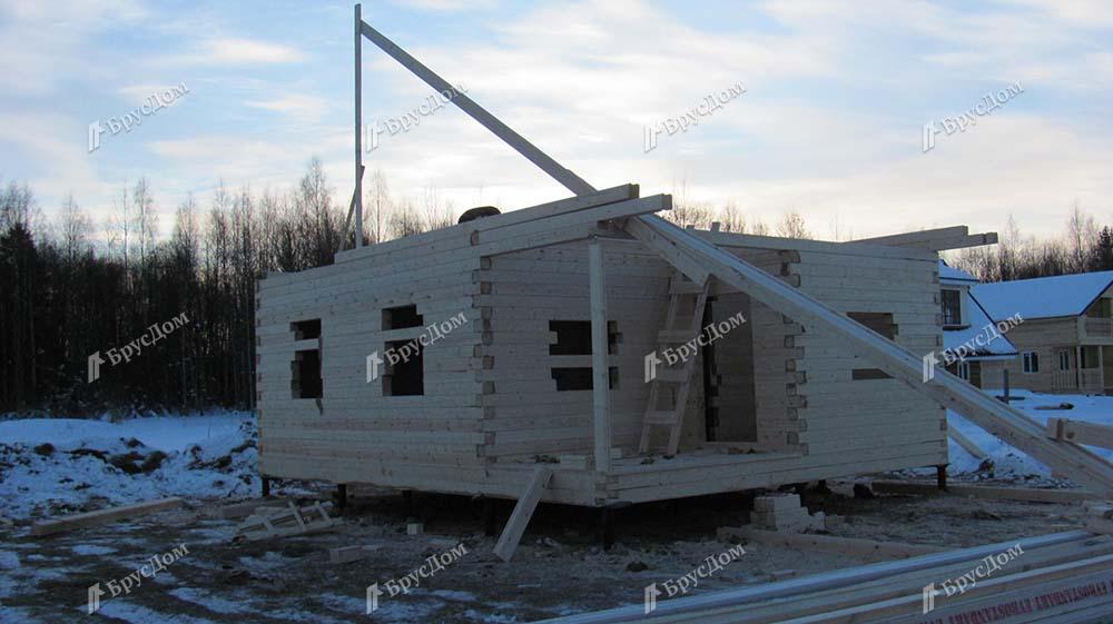 Дом из бруса 6х8 Володар, Ленинградская область, Приозерский р-он