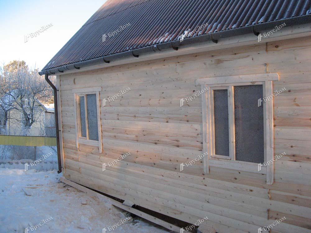 Дом из бруса 7х7 Радимир, Ленинградская область, Ломоносовский р-он