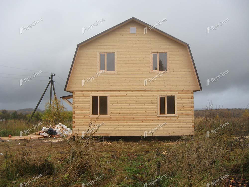 Дом из бруса 8.5х9 Салтан, Тульская область, Заокский р-он