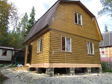 Дом из бруса 6х6 Доброслав, Ленинградская область, Выборгский р-он
