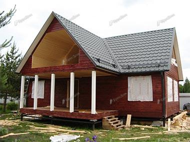 Дом из бруса 9х12 Герман, Ленинградская область, Ломоносовский район