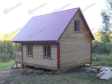 Дом из бруса 6х8 Дионис, Ленинградская область, Гатчинский район