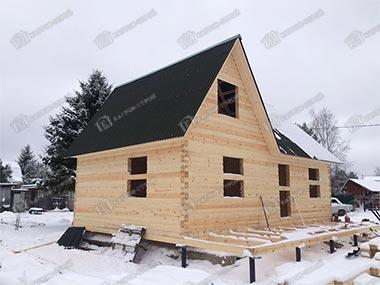Дом из бруса 6х9 Светомир, Ленинградская область, Всеволожский р-он