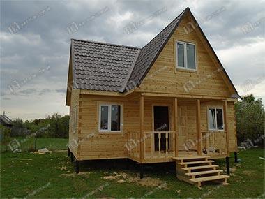 Дом из бруса 7.5х8 Богдан, Московская область, Рузский район