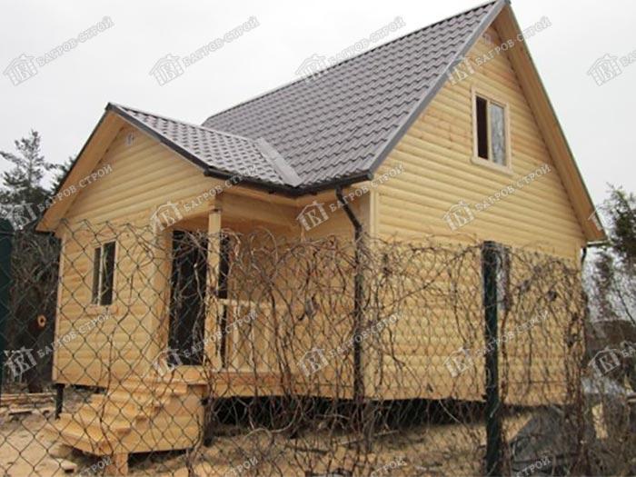 Дом из бруса 7.5х8 Пересвет, Псковская область, пос. Струги Красные