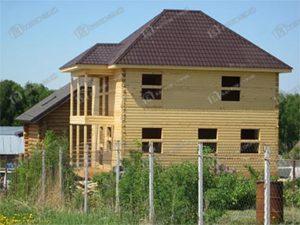 Дом из бруса 7х8 Христофор, Московская область, Воскресенский район