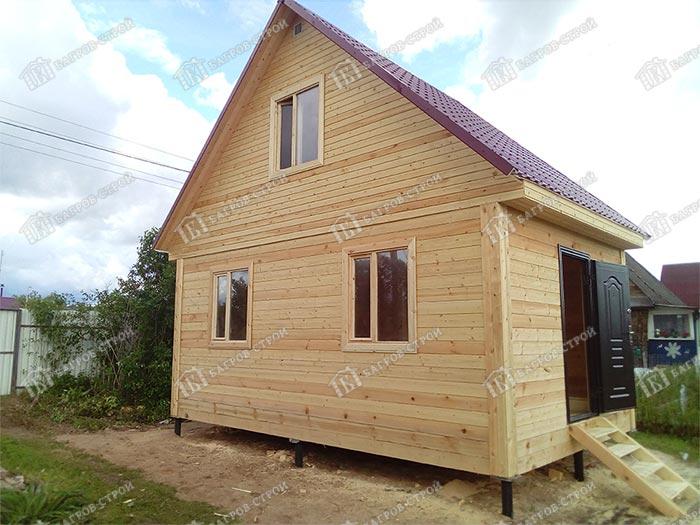 Деревянный дом из бруса 4х6 Демир, Тверская область, г. Удомля