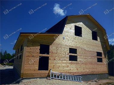 Дом из бруса 10х9 Никанор, Московская область, Чеховский район