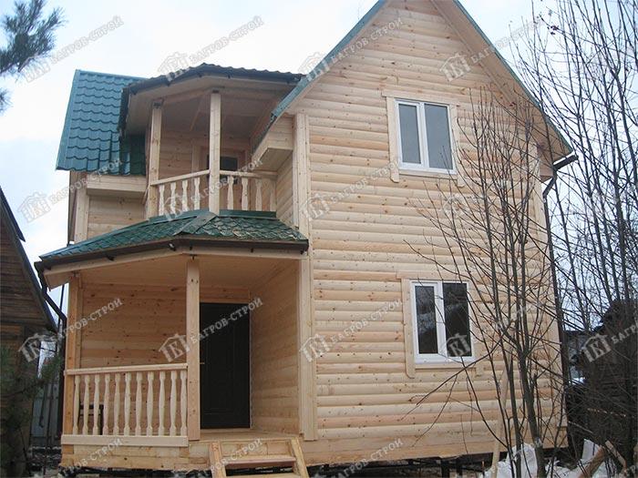 Дом из бруса 6.5х6.5 Гедеон, Московская область, г. Долгопрудный