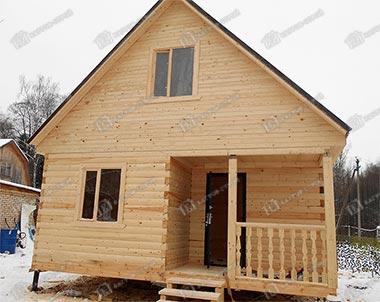 Дом из бруса 6х6 Белояр, Ярославская область, Рыбинский р-он