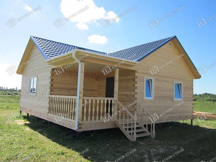 Дом из бруса 9х9 Ильдар, Ломоносовский р-он, Ленинградской области