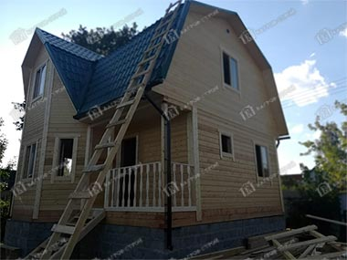 Дом из бруса 7х7 Ратмир, Московская обл, г. Клин