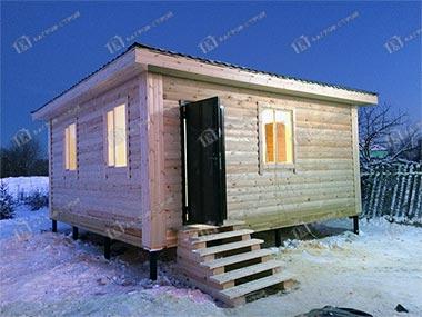 Дом из бруса 6х6 Валериан, Владимирская область, дер. Жабрево