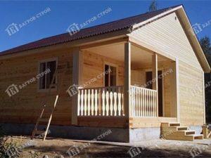 Дом из бруса 8х8 Бахтияр, Псковская область, Великолукский район