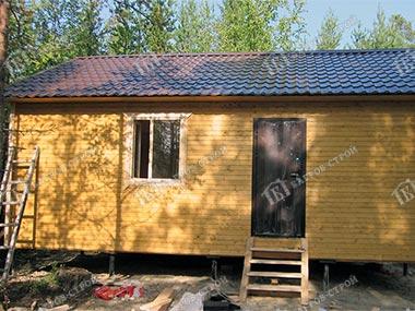 Каркасный дом 6х8 Олег, Мурманская область, Кольский район