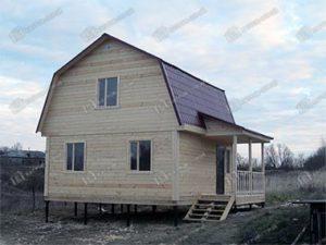 Дом из бруса 6х7.5 Даромир, Нижегородская область, Бутурлинский район