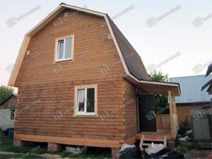 Дом из бруса 6х7,5 Даромир, Рязанская область, Рыбновский район