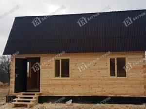 Дом из бруса 6х7 Лучезар, Ленинградская область, Кингисеппский район