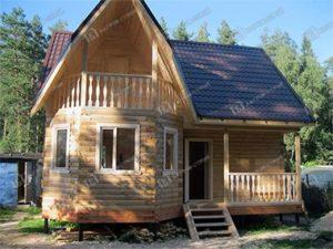 Дом из бруса 7х8 Радислав, Московская область, Щёлковский район