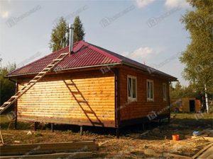 Дом из бруса 8х8 Бахтияр, Московская область, пгт Серебряные пруды