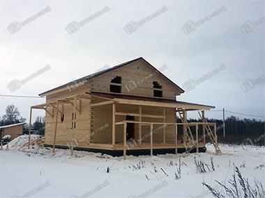 Дом из бруса 8х9 Дорофей, Ярославская область, Тутаевский район