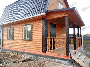 Дом из бруса 6х7.5 Аполин, Нижегородская область, Арзамасский район