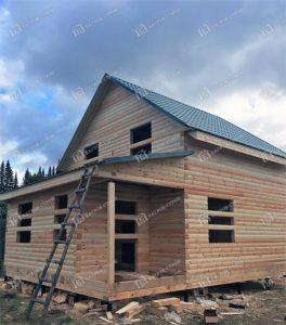 Отзыв о строительстве дома Ленинградская область, Тосненский район