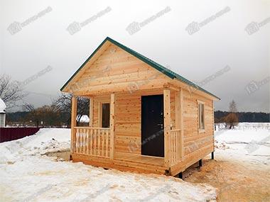 Дом из бруса 4х6 Алфей, Владимирская область, Гусь-Хрустальный район