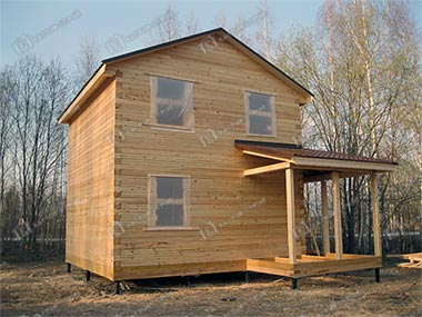 Дом из бруса 6х6 Харитон, Тульская обл., Заокский р-он, д. Тетерево