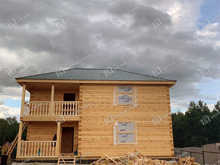 Дом из бруса 10х10 Мартин, Нижегородская обл., д. Вышка