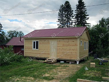 Дом из бруса 6х8 Самуил, Республика Карелия, г. Сортавала