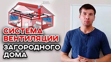 Вентиляция в частном доме, как убрать конденсат в доме?