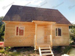 Каркасный дом 6х8 Добрыня, Ленинградская область, г. Тихвин