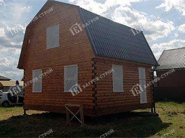 Дом из бруса 6х6 Доброслав, Московская область, Егорьевский район, д. Яковлево
