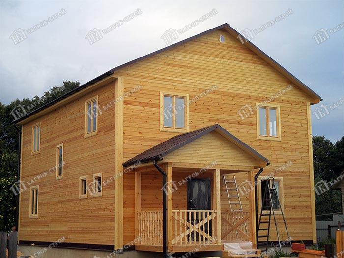 Дом из бруса 10х8 Гвидон, Московская обл., Дмитровский р-н, с. Ивановское