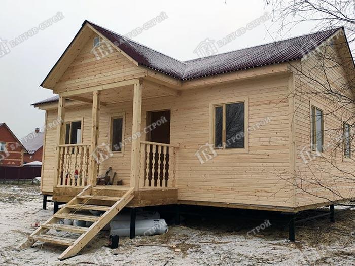Каркасный дом 7.5х9 Конрад, Московская обл., Воскресенский р-н.